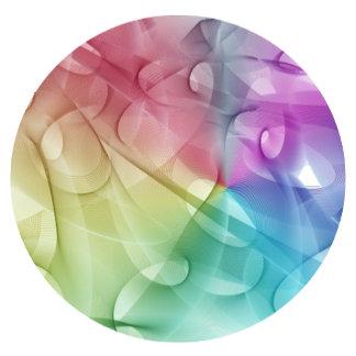 Gentle pattern rainbow