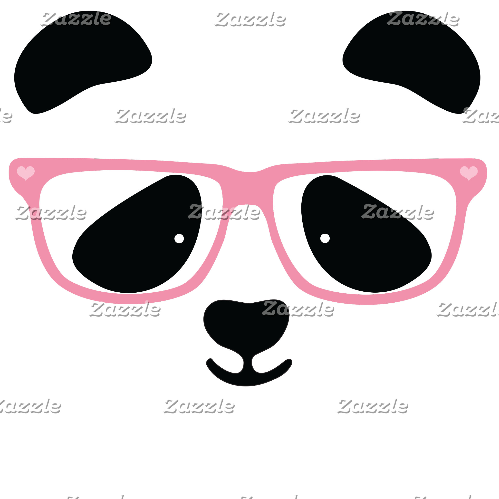 Cute Panda Face Designs