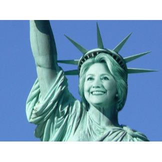 Statue Of Liberty Hillary