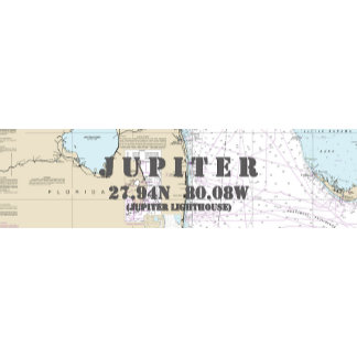 Nautical Boating Charts: Jupiter Florida