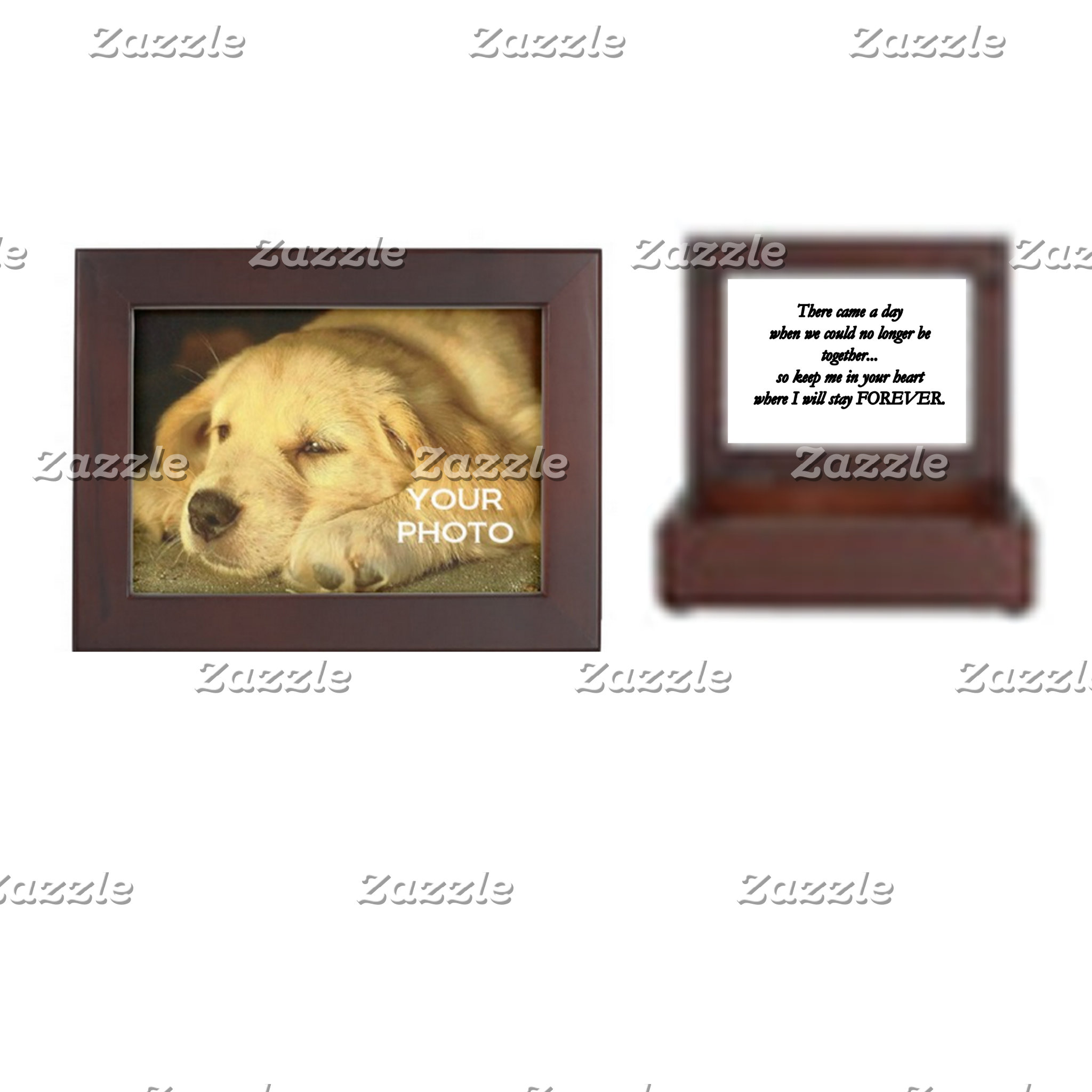 Pet Memorial Keepsake Boxes