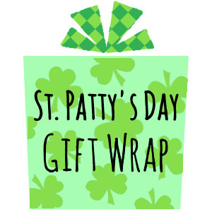 St Patrick's Day Gift Wrap