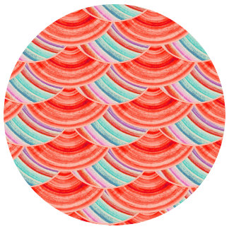 Geometric Pattern-pink-blue