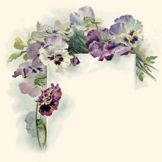 Vintage floral art