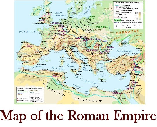 Roman Empire Map