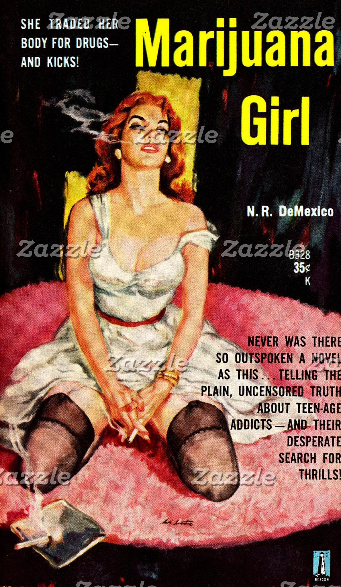 Vintage Pulp Paperback Covers