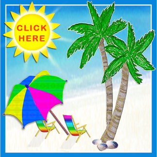 Tropical Beach Themed Gifts