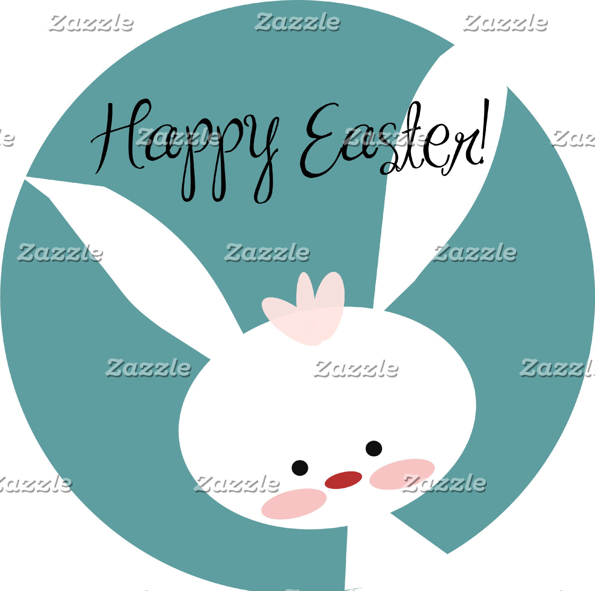 Easter Bunny - Blue