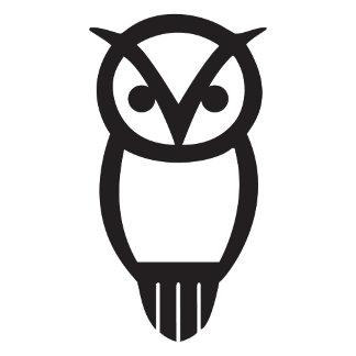 Chi Omega Silhouette Owl