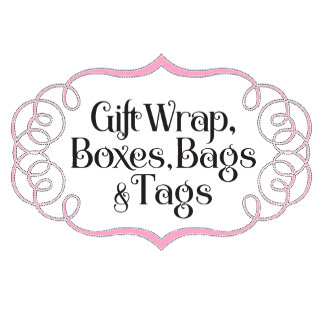 Gift Wrap, Boxes & Bags, & Tags