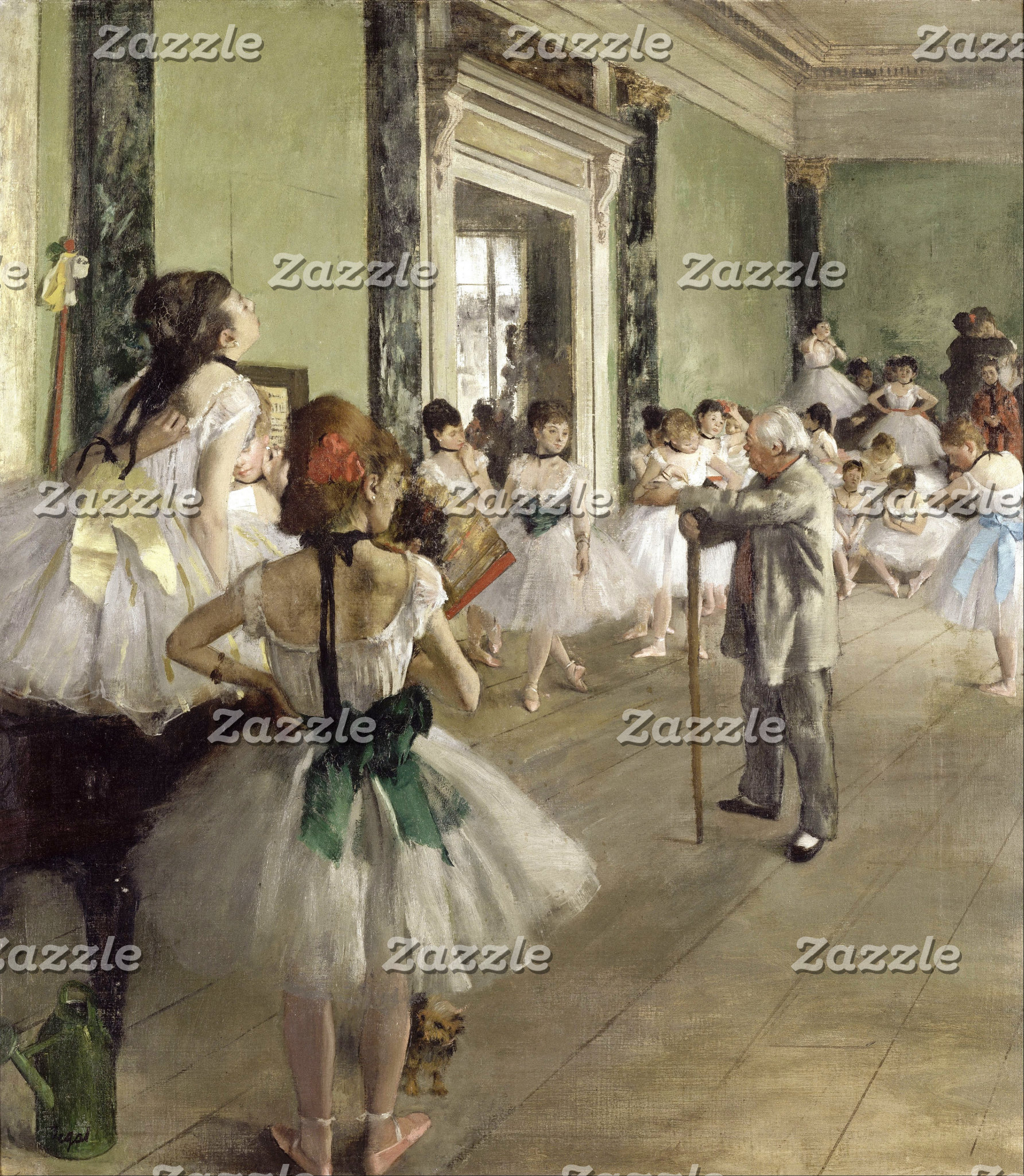Edgar Degas   The Ballet Class