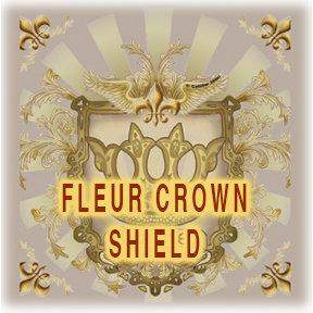 Fleur Crown Shield