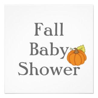 Fall Baby Shower
