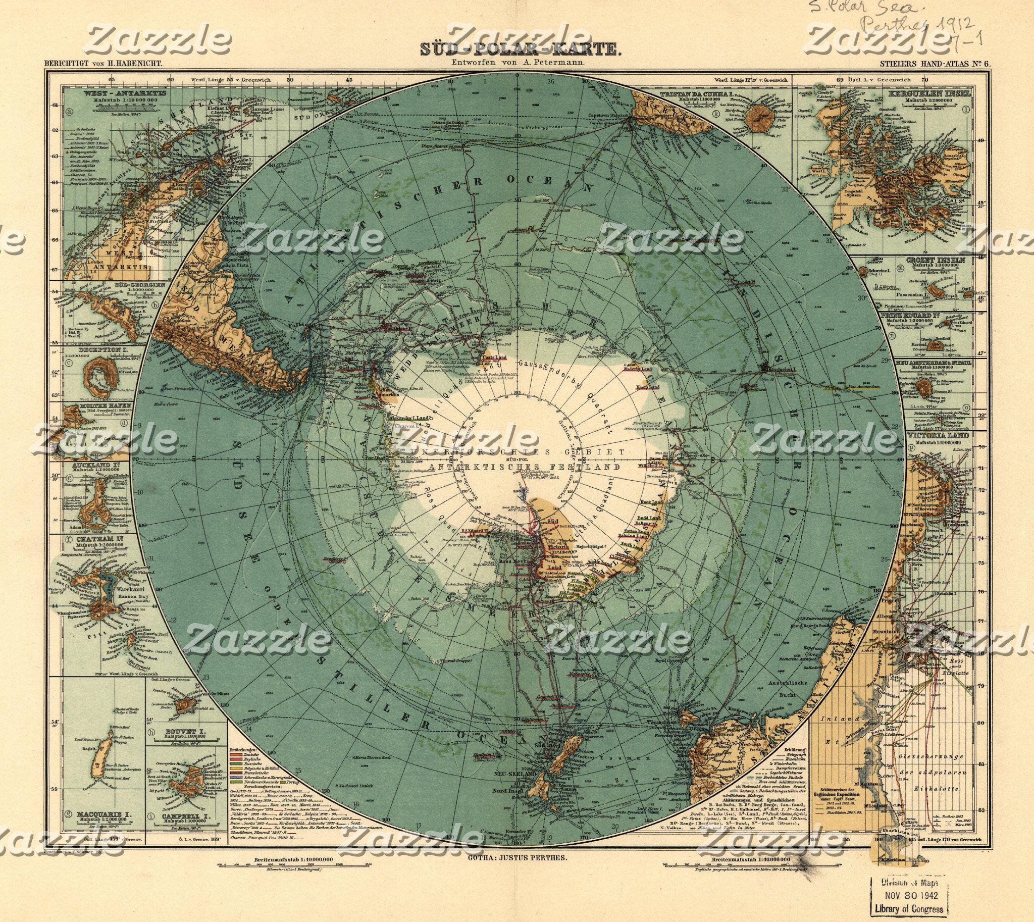 ANTARCTICA MAPS