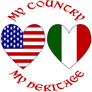 Red Italian USA Country Heritage