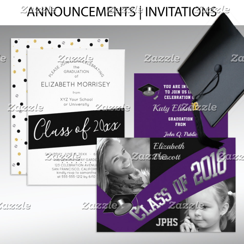Announcements   Invitations