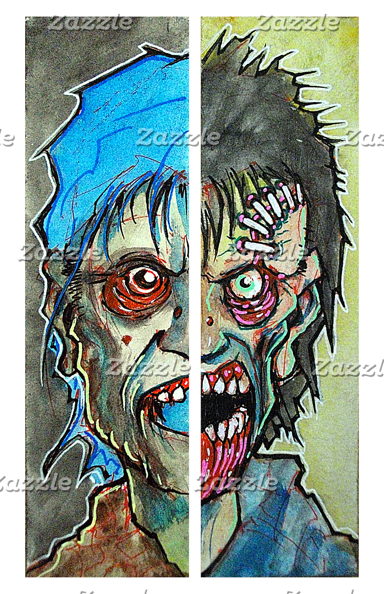 Two Half Zombie