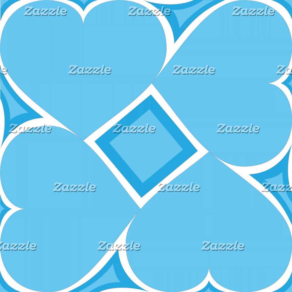 Hearts Tile Pattern