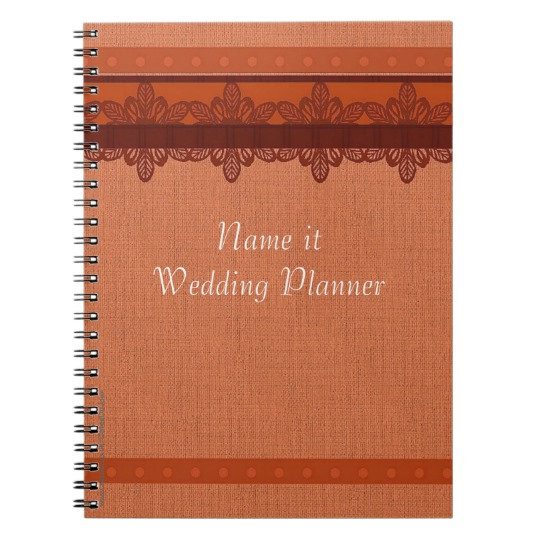 Wedding Planners and Journals