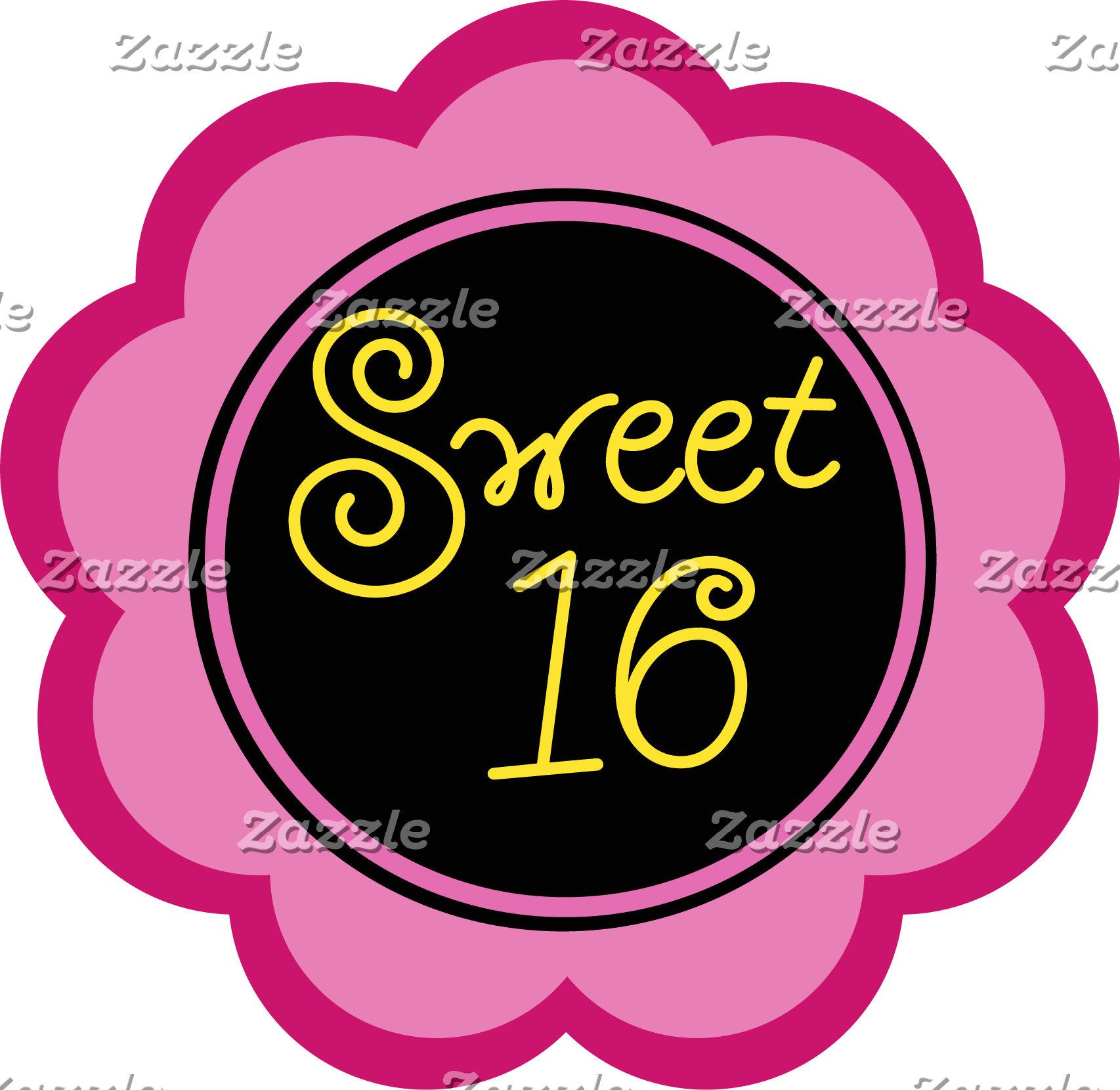 Birthday Invitations (Sweet Sixteen)