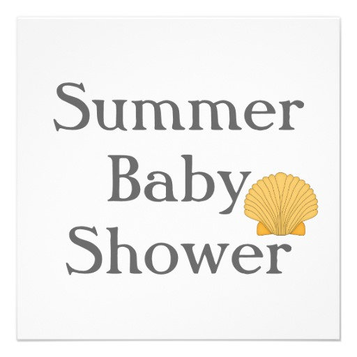 Summer Baby Shower