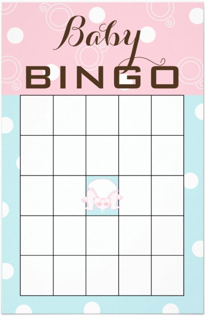 Baby Shower BINGO Cards