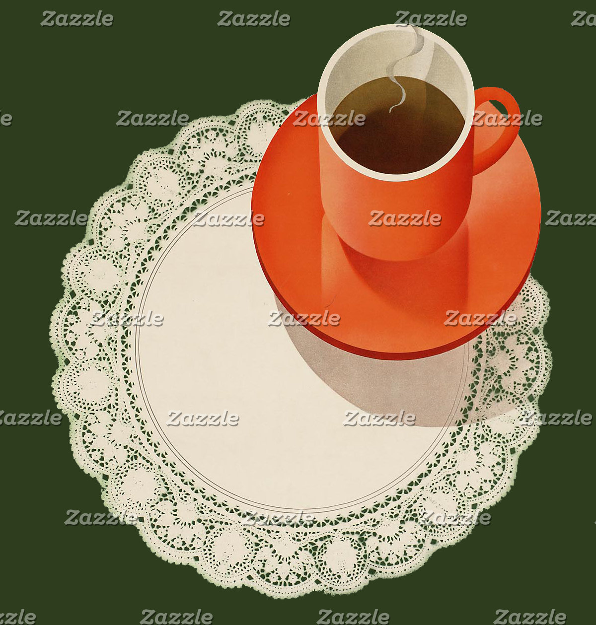 Tea and doily