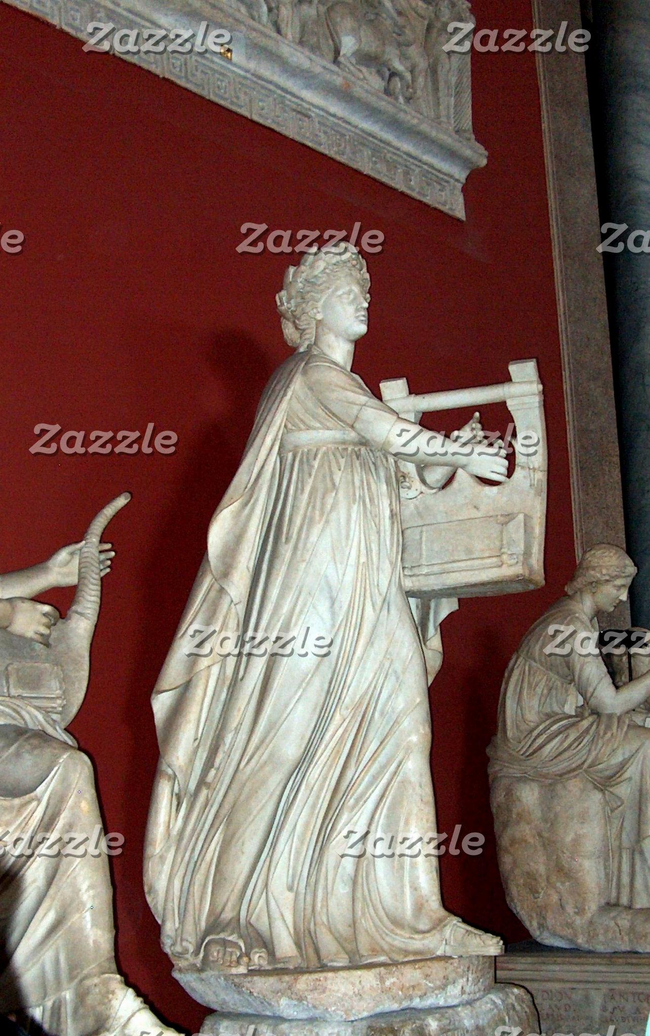 Apollo Statue in the Vatican Museum