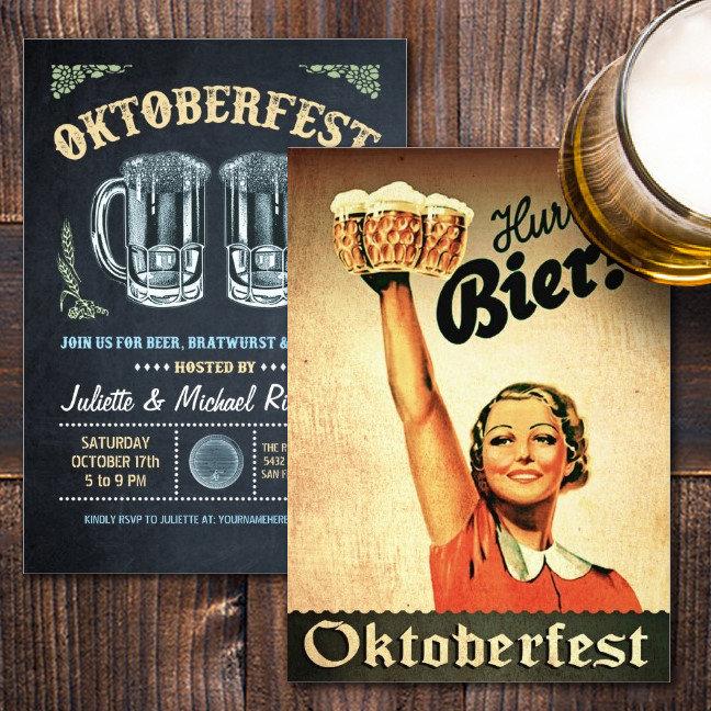 Oktoberfest Invitations