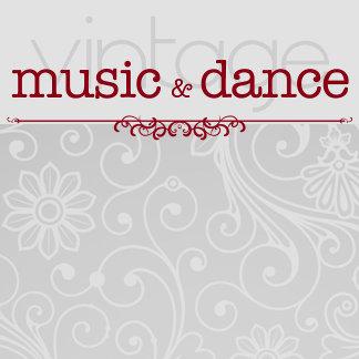 MUSIC   DANCE Vintage