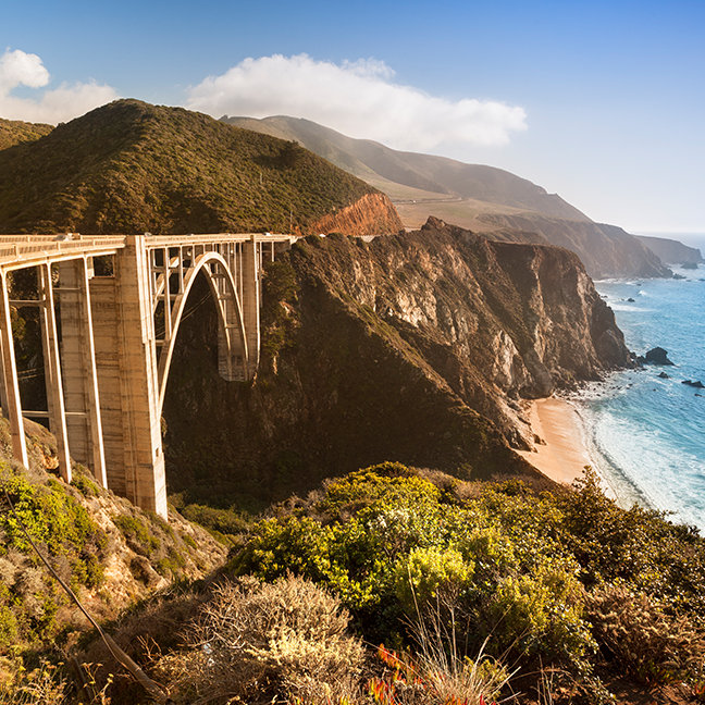 Bixby Bridge, Big Sur, California, USA