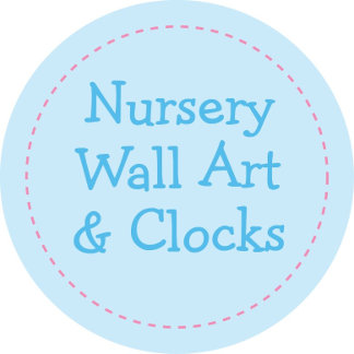 Nursery Wall Art & Clocks