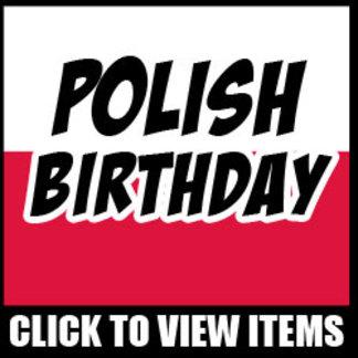 Polish Birthday Designs
