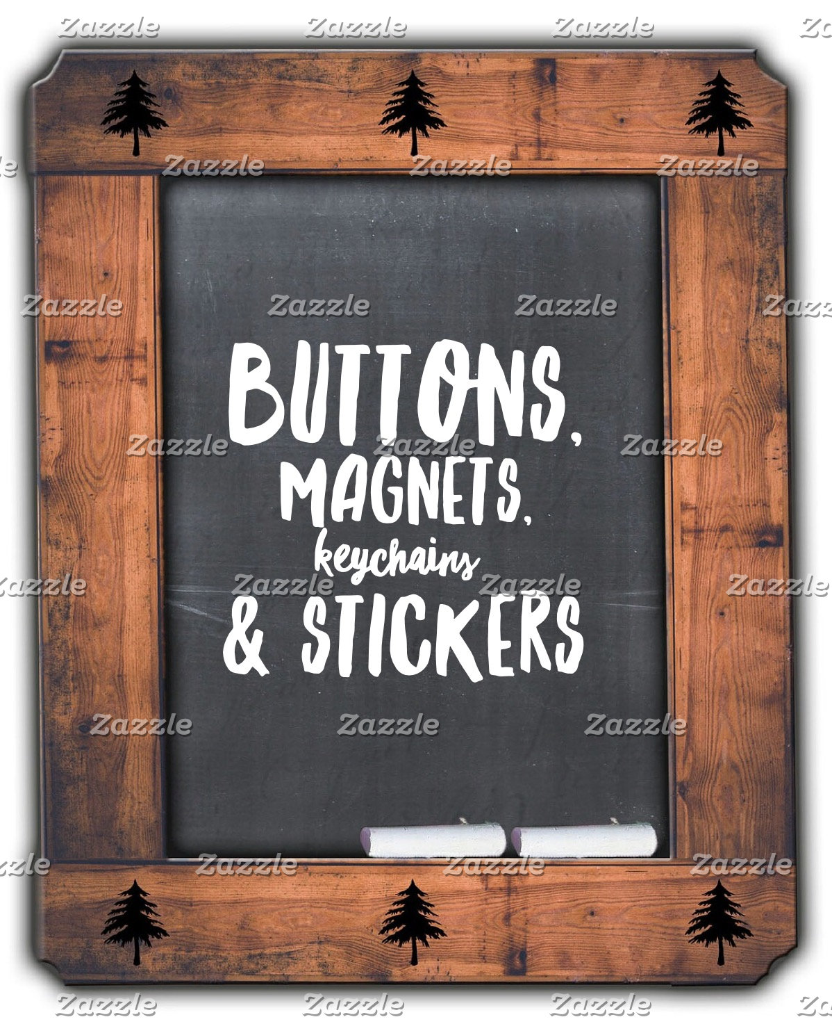 Buttons, Magnets, Key Chains & Stickers