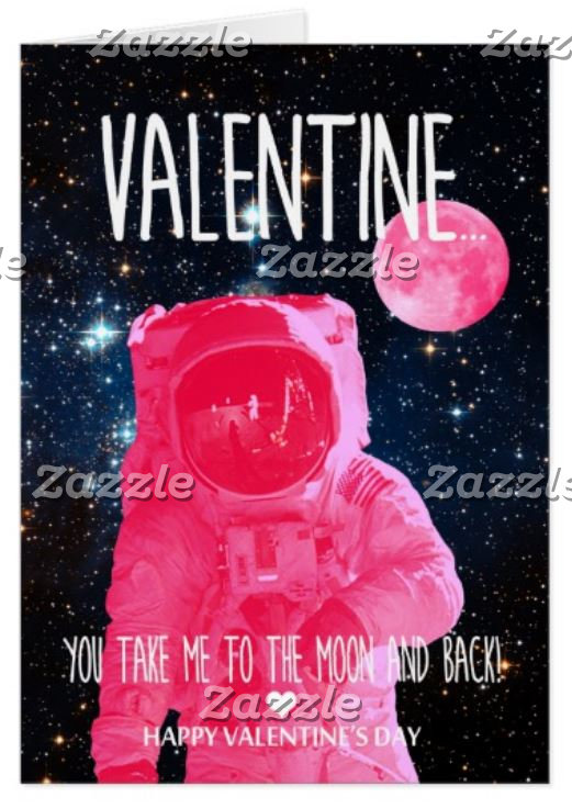 Out of this world Valentine's Day Cards