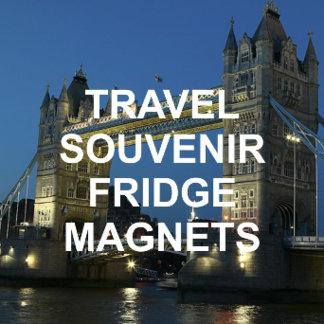 A+ Travel Souvenir Fridge Magnets