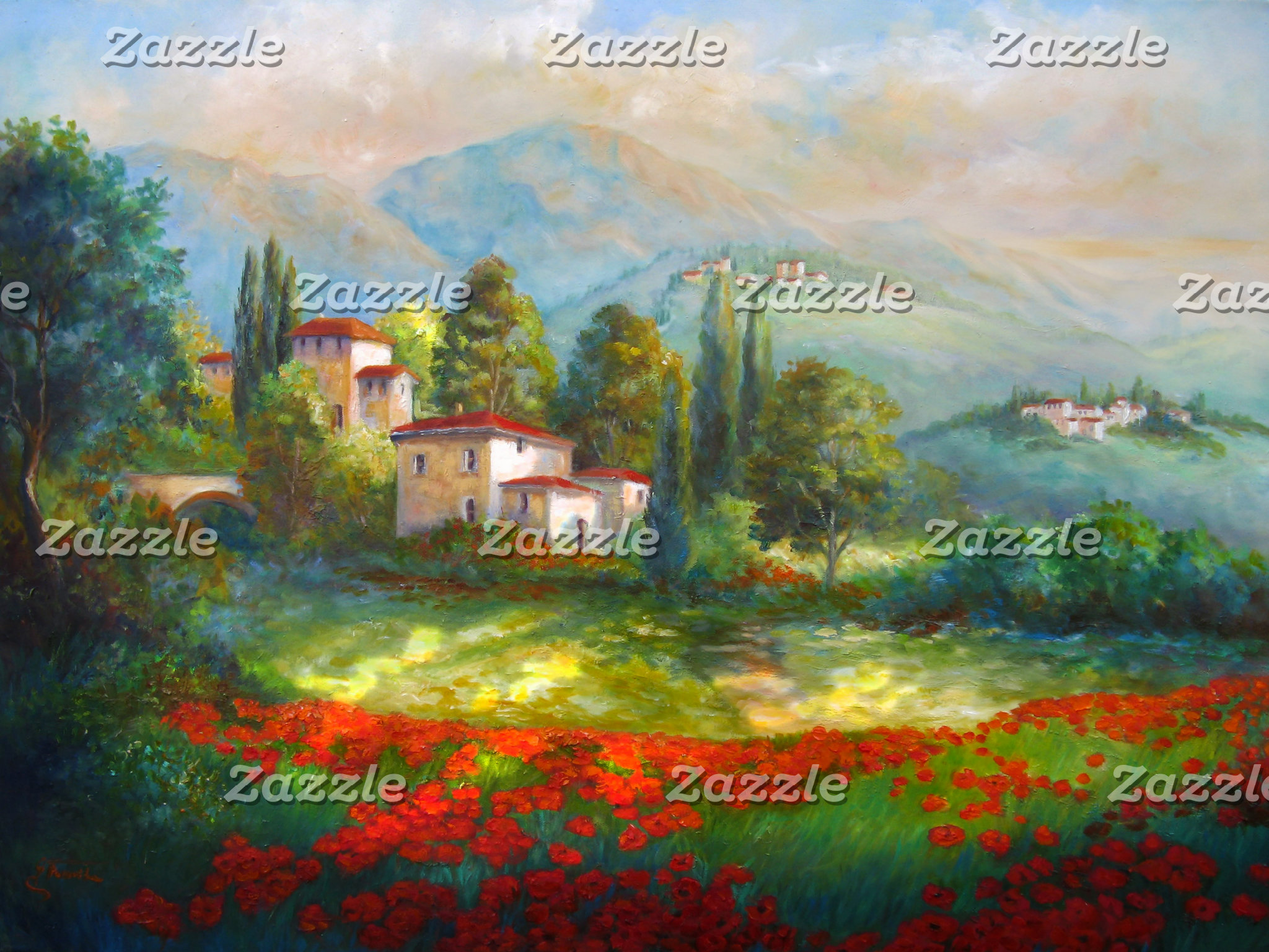 Landscapes and Town Scenes