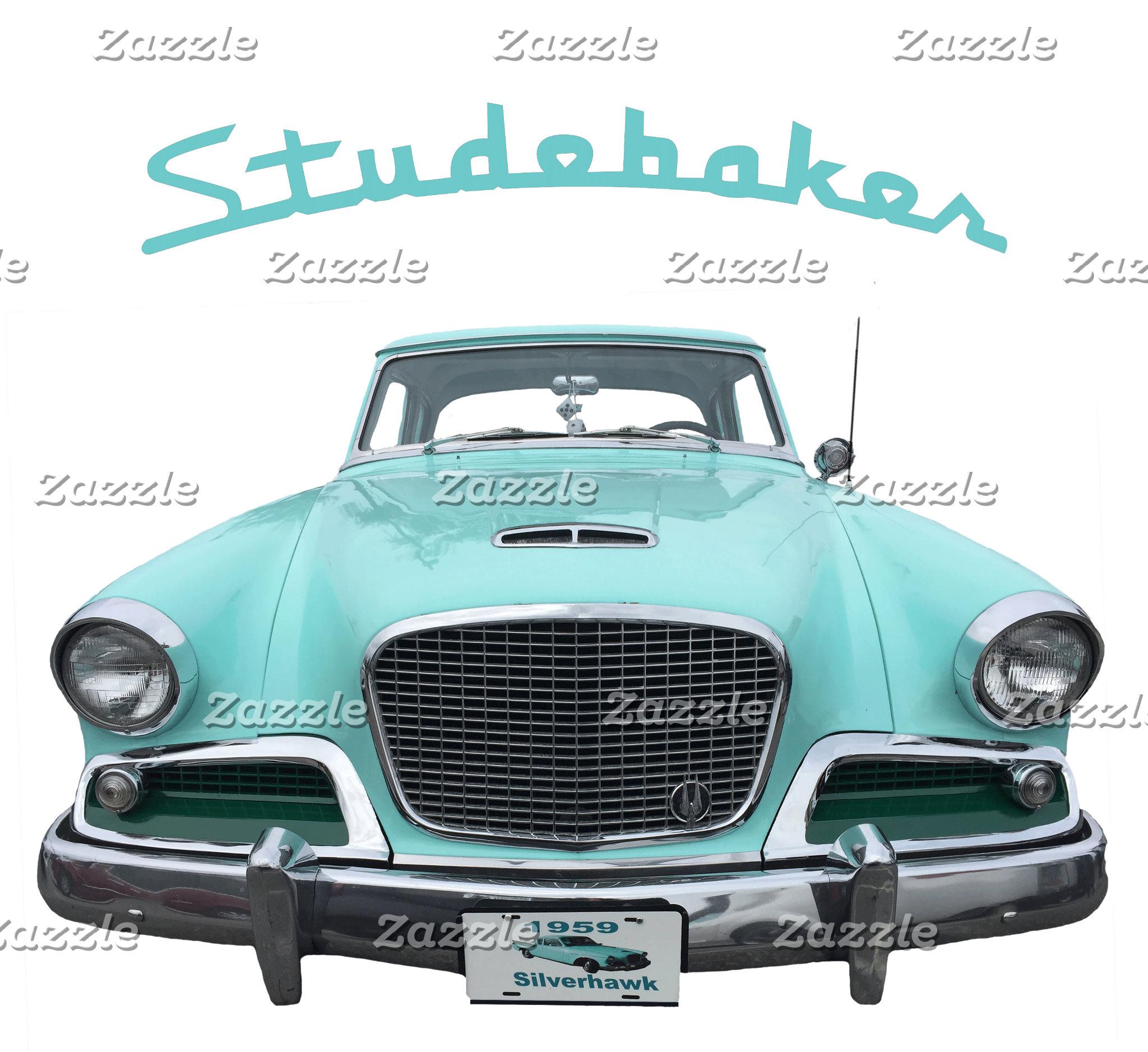 Classic Vintage Studebaker 1959 Silverhawk Car