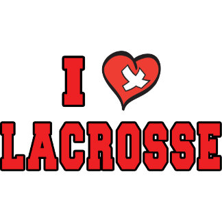 I Love Lacrosse T-Shirts Gifts
