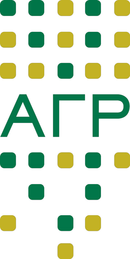 Alpha Gamma Rho - Letters Vertical