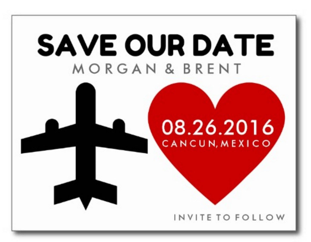 Wedding Save the Dates