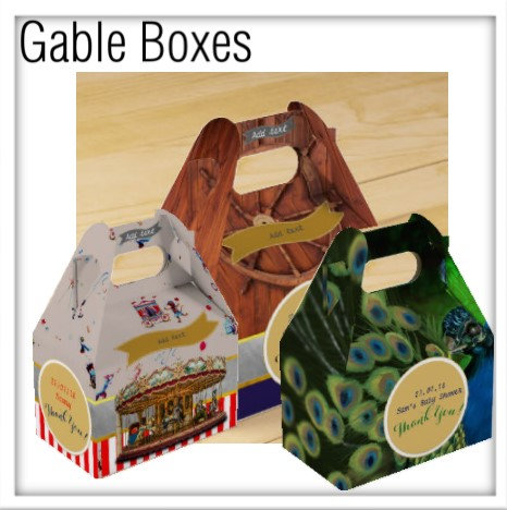 Themed Gable Boxes