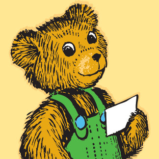 Corduroy With Card