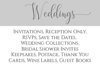 ~Weddings