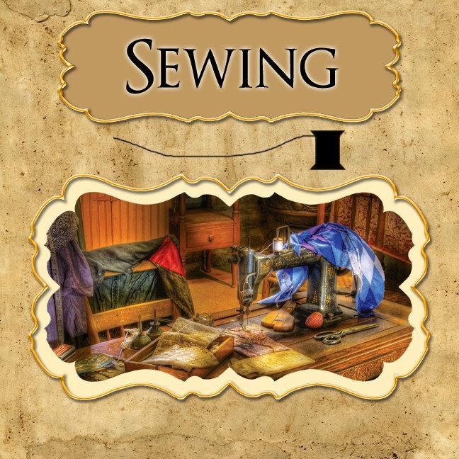 - Hobby - Sewing