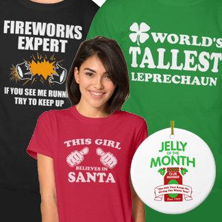 Holiday Shirts and Gifts