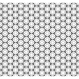 Black & White Patterns | Hexagons VII