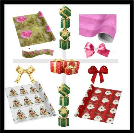 GIFT WRAPPING * RIBBON ^ GIFT BAGS