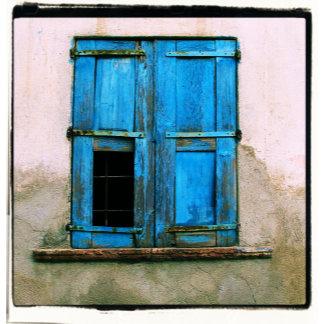 Greek Blue Window Shutters, Crete