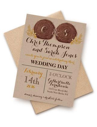 Wedding Hay Bales